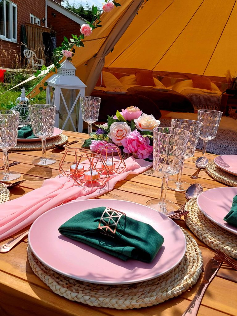 Intent Events Company Bell Tent and Glamping Hire